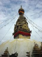 Asisbiz Swayambhunath temple monkey pagoda Kathmandu Sep 2000 02