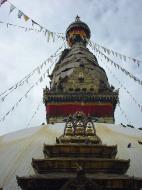 Asisbiz Swayambhunath temple monkey pagoda Kathmandu Sep 2000 03