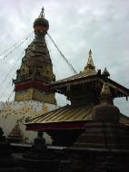 Asisbiz Swayambhunath temple monkey pagoda Kathmandu Sep 2000 04