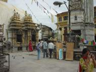 Asisbiz Swayambhunath temple monkey pagoda Kathmandu Sep 2000 06