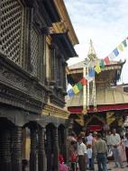 Asisbiz Swayambhunath temple monkey pagoda Kathmandu Sep 2000 11