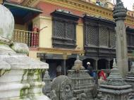 Asisbiz Swayambhunath temple monkey pagoda Kathmandu Sep 2000 12