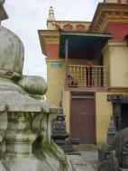 Asisbiz Swayambhunath temple monkey pagoda Kathmandu Sep 2000 13