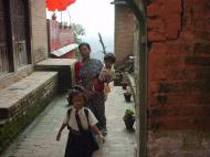 Asisbiz Swayambhunath temple monkey pagoda Kathmandu Sep 2000 17