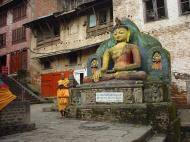 Asisbiz Swayambhunath temple monkey pagoda Kathmandu Sep 2000 19