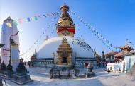 Asisbiz Swayambhunath temple monkey pagoda Kathmandu photo by Nabin K Sapkota 2018 wikipedia
