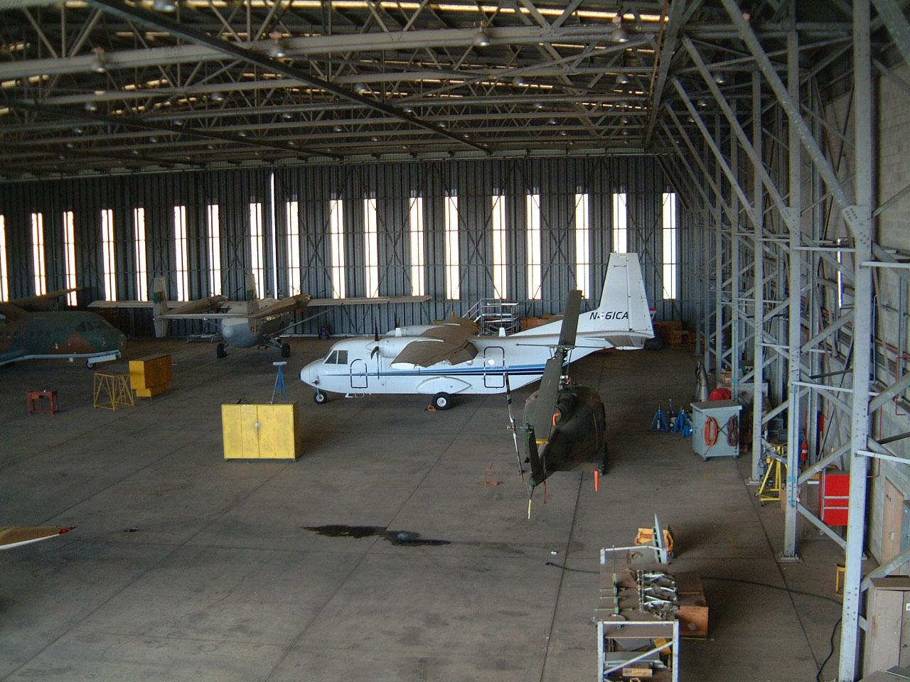 PNG Defence Force Hangar Jacksons Airport Sep 2002 01