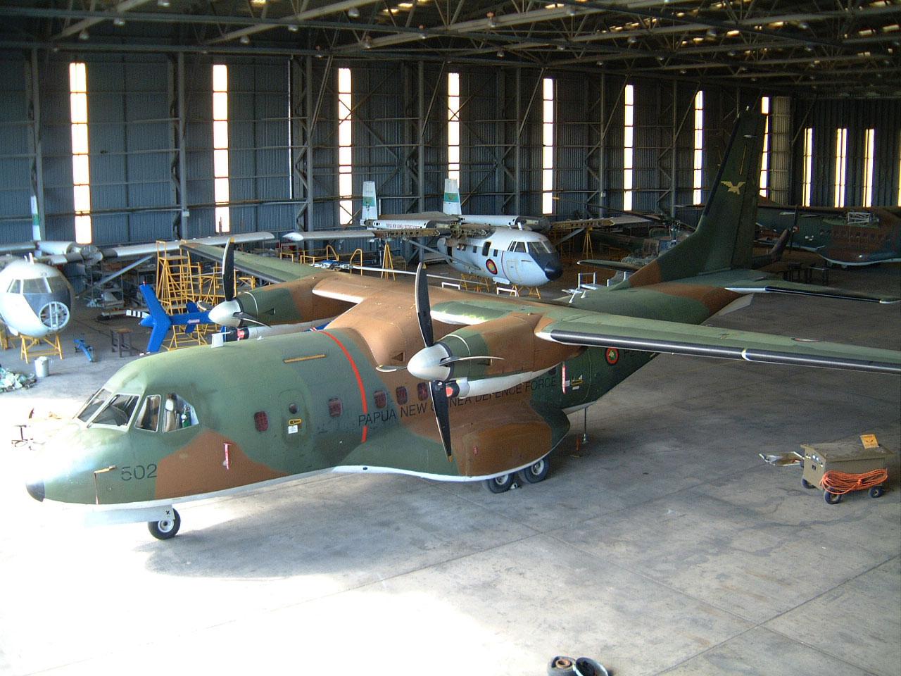 PNG Defence Force Hangar Jacksons Airport Sep 2002 03