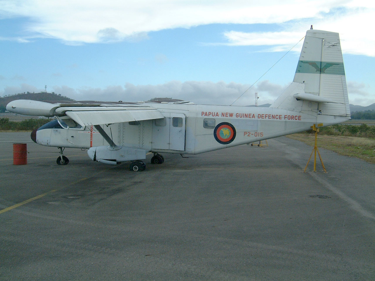 PNG Defence Force Nomad P2 015 Derelict Jacksons Airport Sep 2002 01