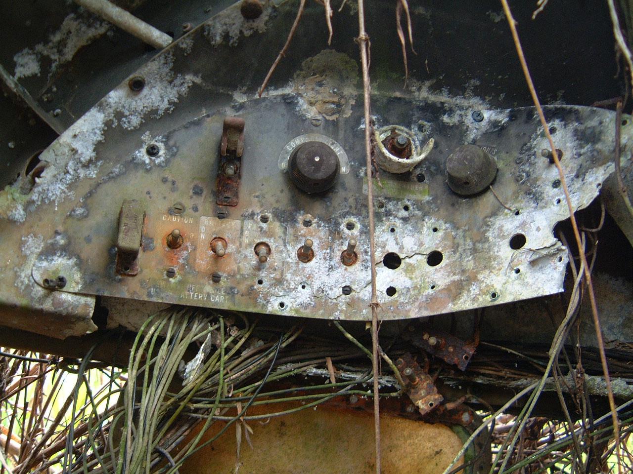 C 47 Dakota USAAF 5AF 42 23659 crash site PNG Oct 2002 09