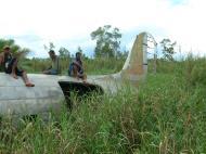 Asisbiz C 47 Dakota USAAF 5AF 42 23659 crash site PNG Oct 2002 16