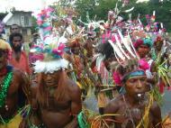 Asisbiz PNG Port Morseby villagers tribal dance Sep 2002 05
