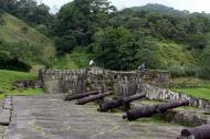 Asisbiz Portobelo Fort Colon Province Panama canons Jun 2004 02