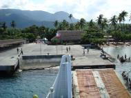 Asisbiz Approaching Balatero wharf the Balatero Ferry Oriental Mindoro Philippines 03