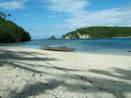 Asisbiz Indigenous boats banca chris re cris Puerto Galera Boquete Island 01