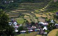 Asisbiz Banaue village houses Batad Rice Terraces Ifugao Province Philippines Aug 2011 07
