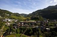 Asisbiz Sanafe Lodge and Restaurant views Banaue Rice Terraces Ifugao Province 01