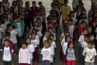 Asisbiz School Children of Paaralang Sentral Ng Banaue Ifugao Province Philippines Aug 2011 05