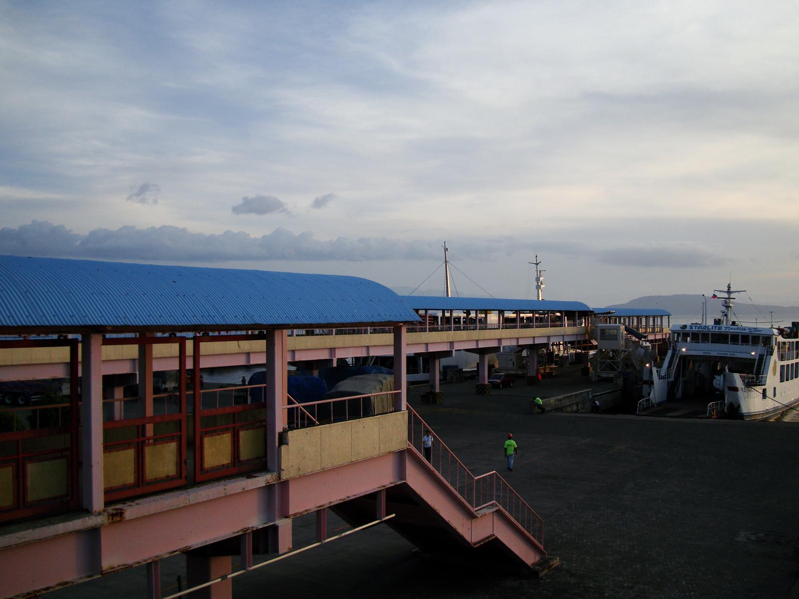 Batangas Port Starlite Nautica lines car Ferry Luzon Philippines 01