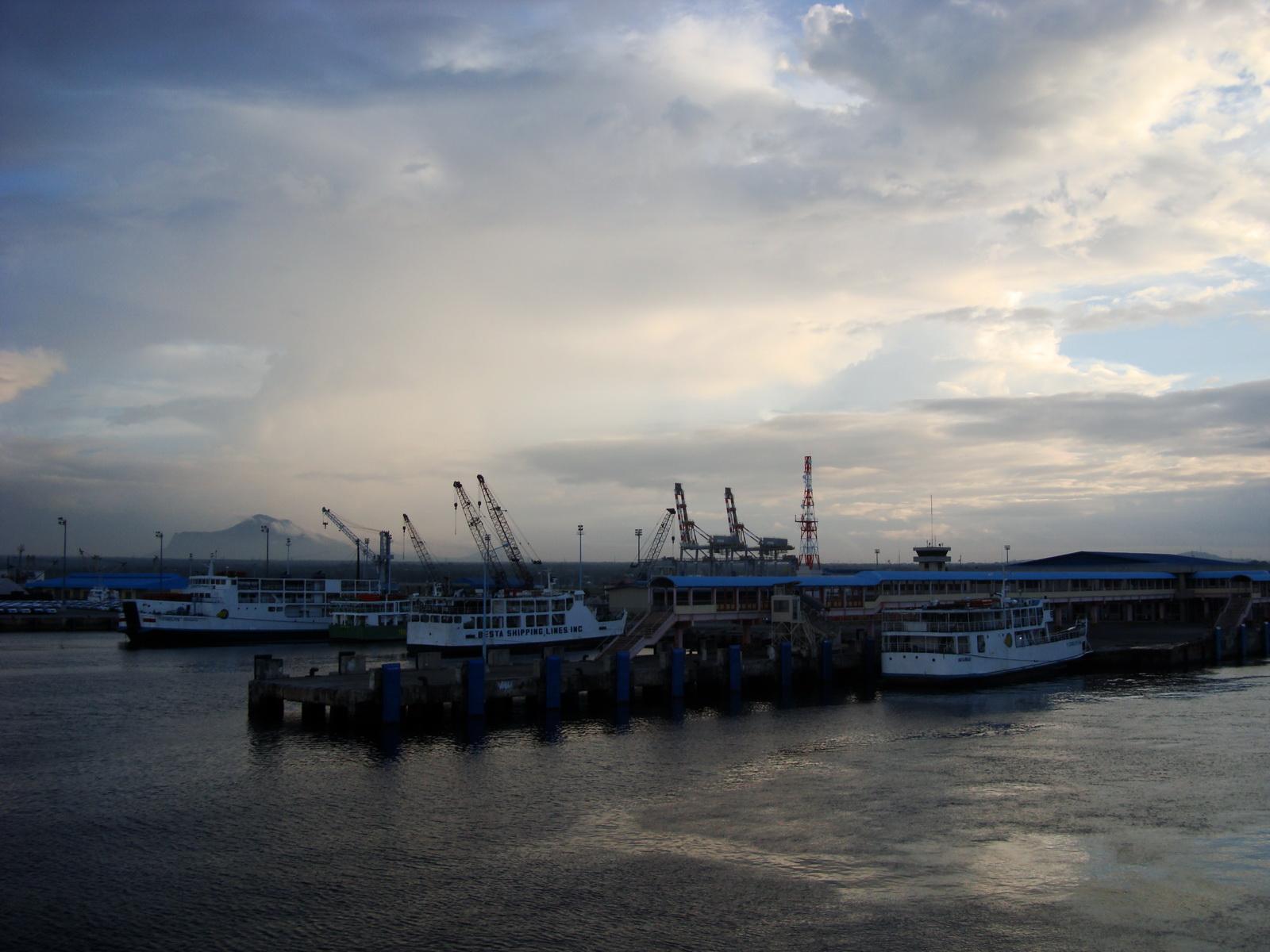 Batangas Port car Ferries Luzon Philippines 01