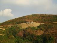Asisbiz Bagalangit Point Virgin Mary Calumpan Peninsula viewed from a banca Anilao Batangas 03