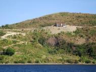 Asisbiz Bagalangit Point Virgin Mary Calumpan Peninsula viewed from a banca Anilao Batangas 04