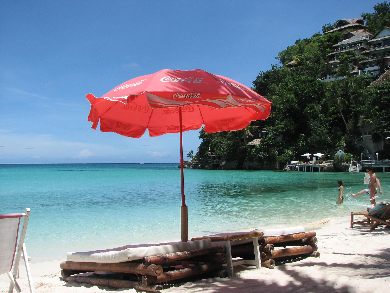 Philippines Panay Negros Sugar Islands Boracay Punta bunga beach May 2007 04