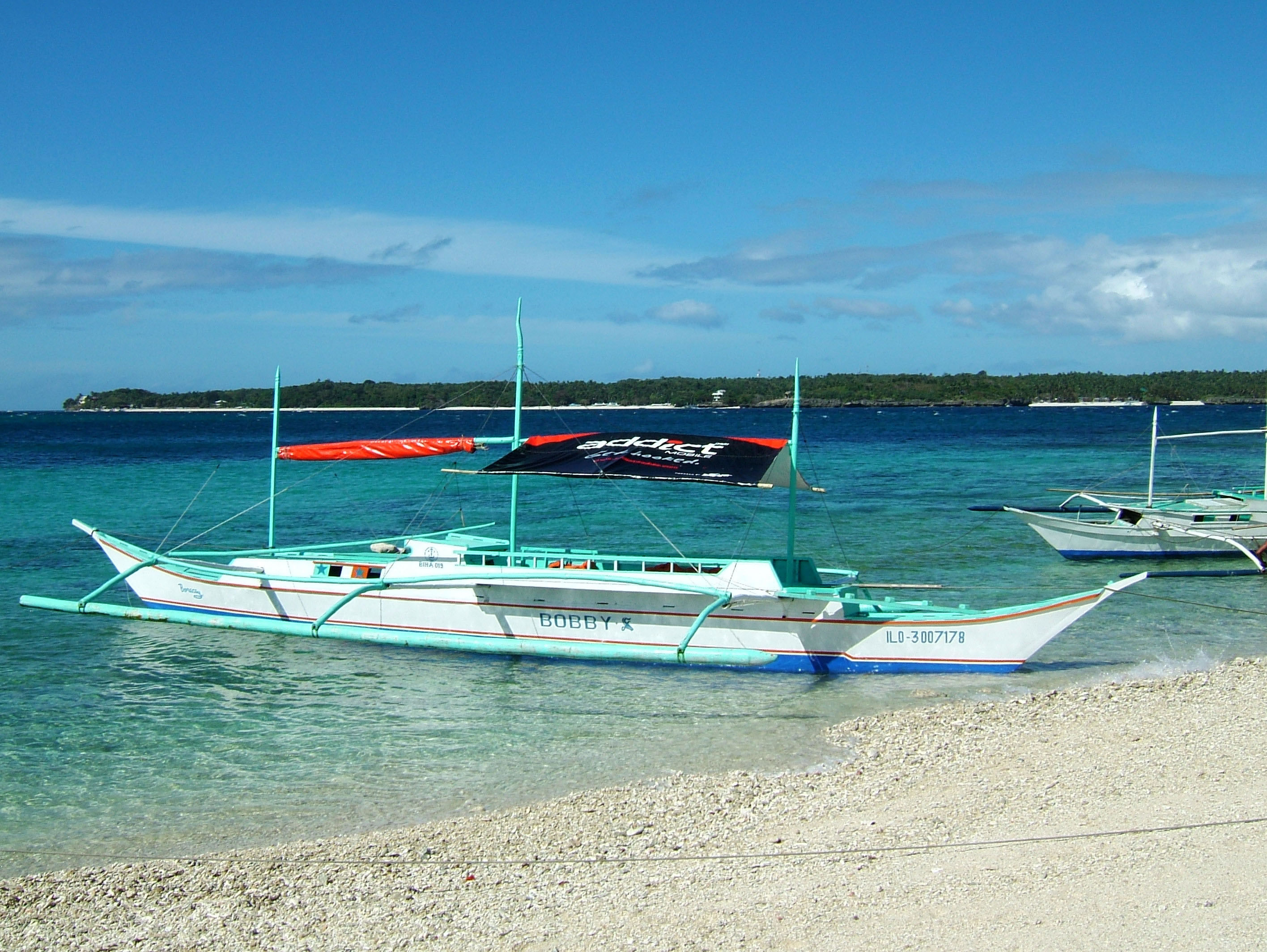 Philippines Panay Negros Sugar Islands Caticlan Boracay Beach Chairs 200604 04