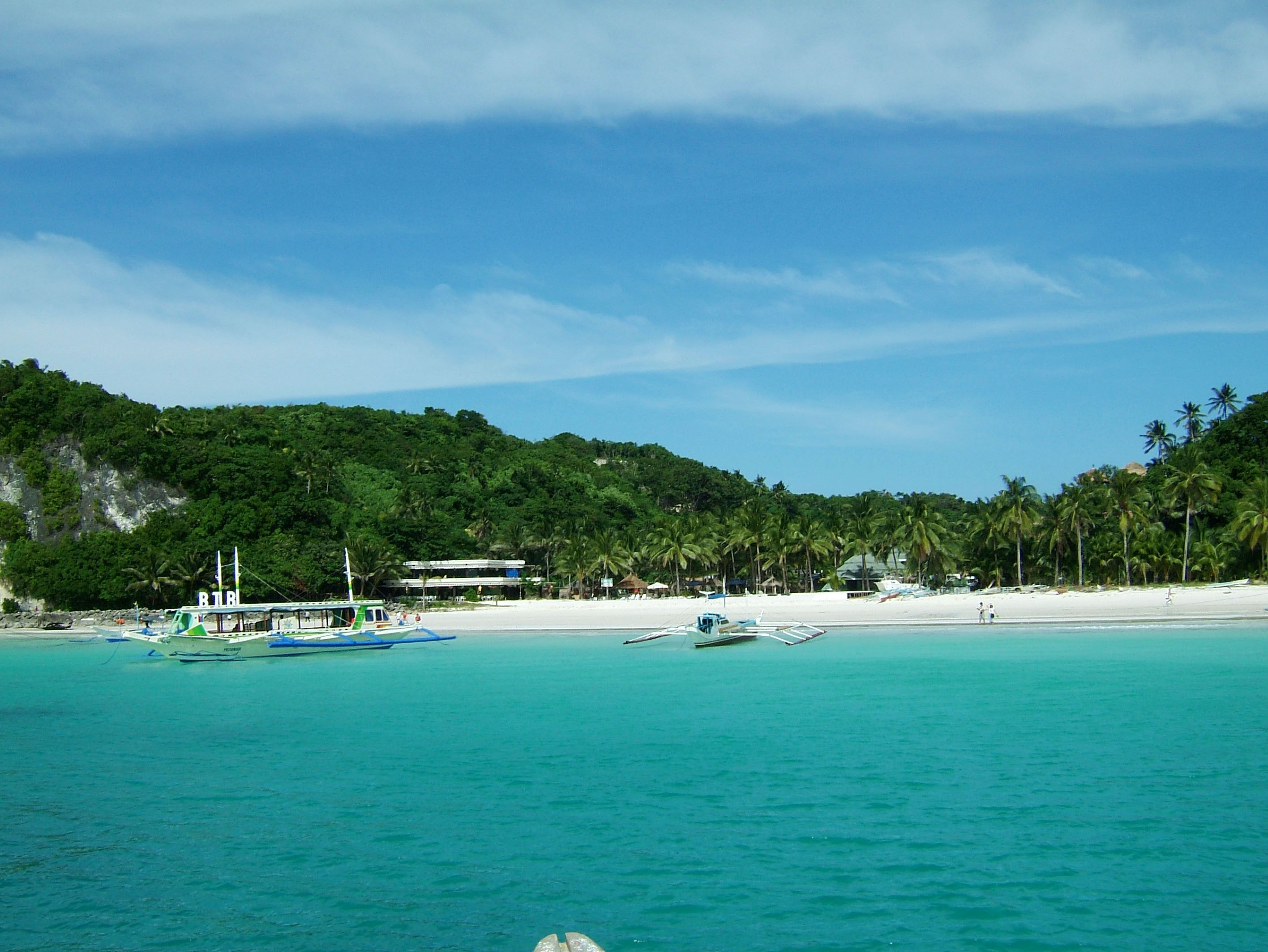 Philippines Panay Negros Sugar Islands Caticlan Boracay Beach Chairs 200604 06