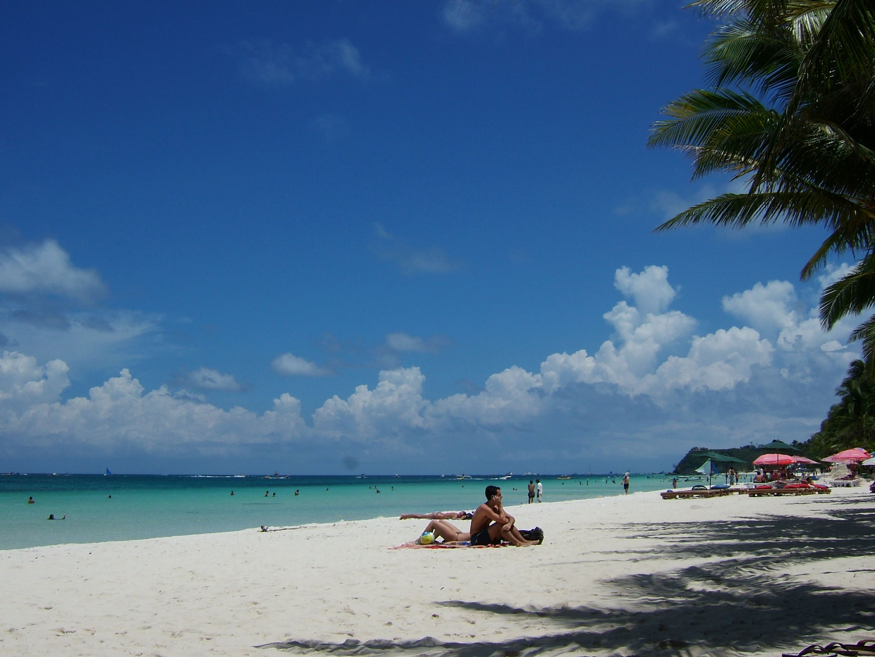 Philippines Sugar Islands Boracay Punta bunga beach Resorts 2007 01