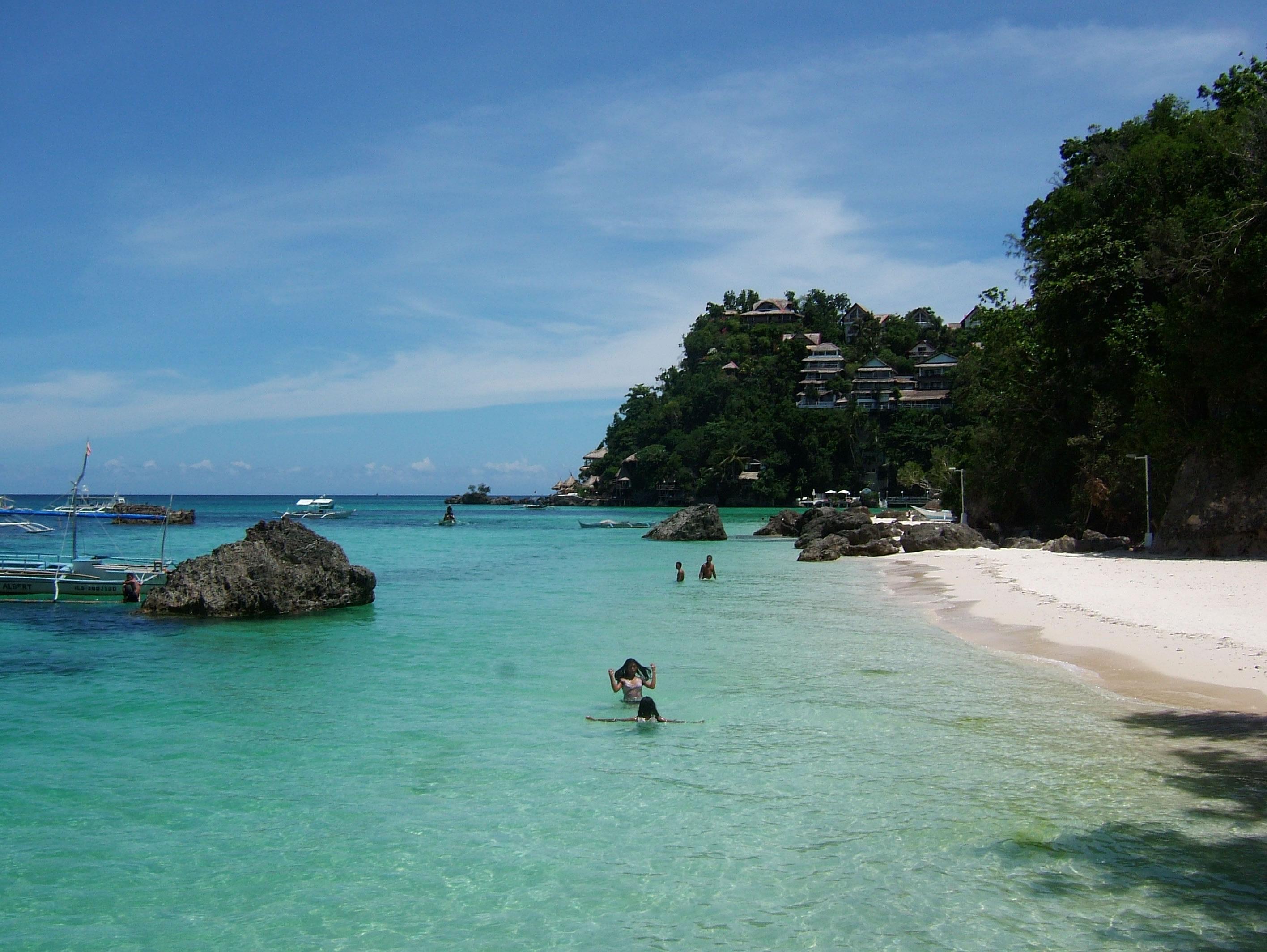 Philippines Sugar Islands Boracay Punta bunga beach Resorts 2007 03