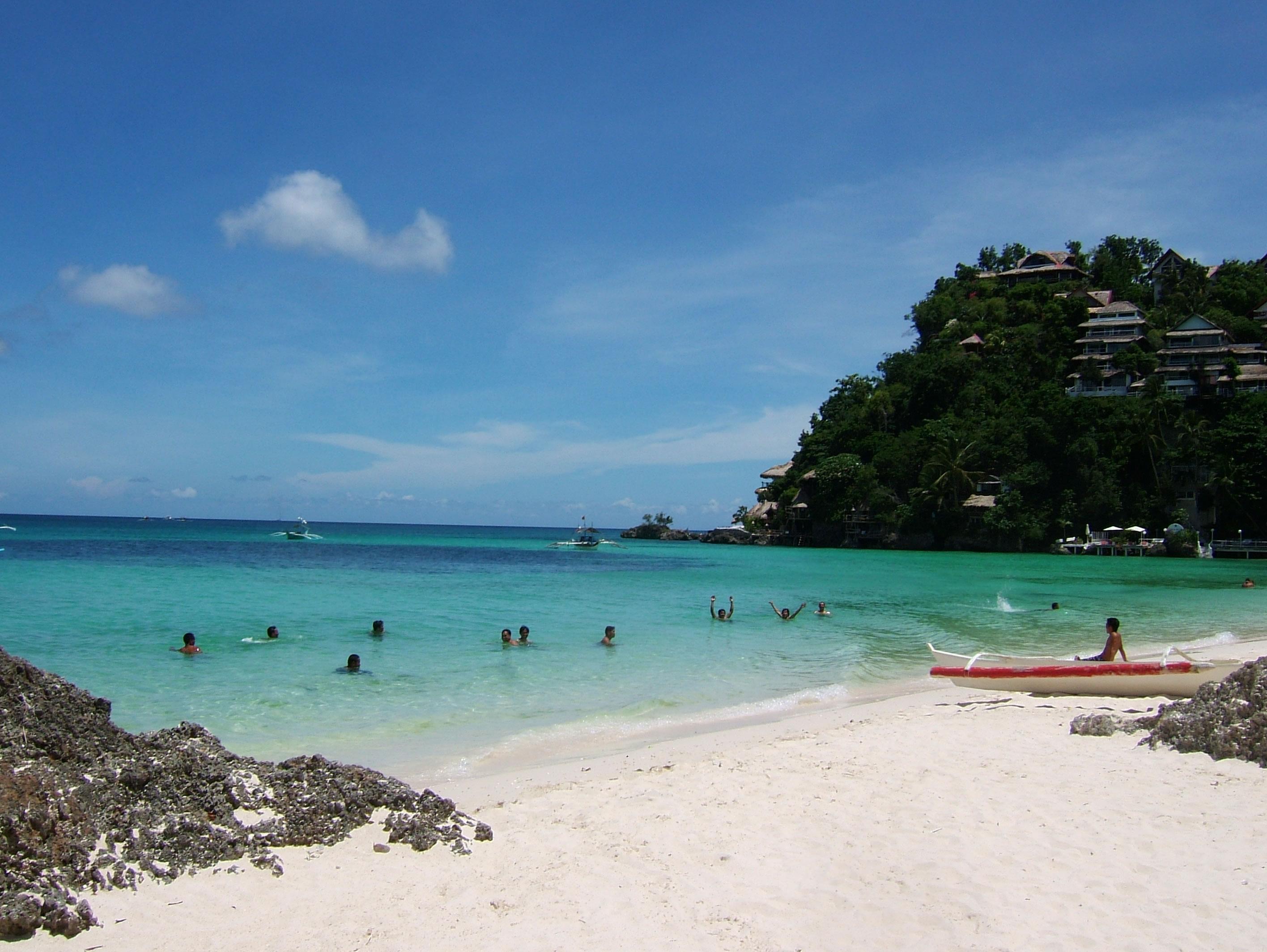 Philippines Sugar Islands Boracay Punta bunga beach Resorts 2007 06