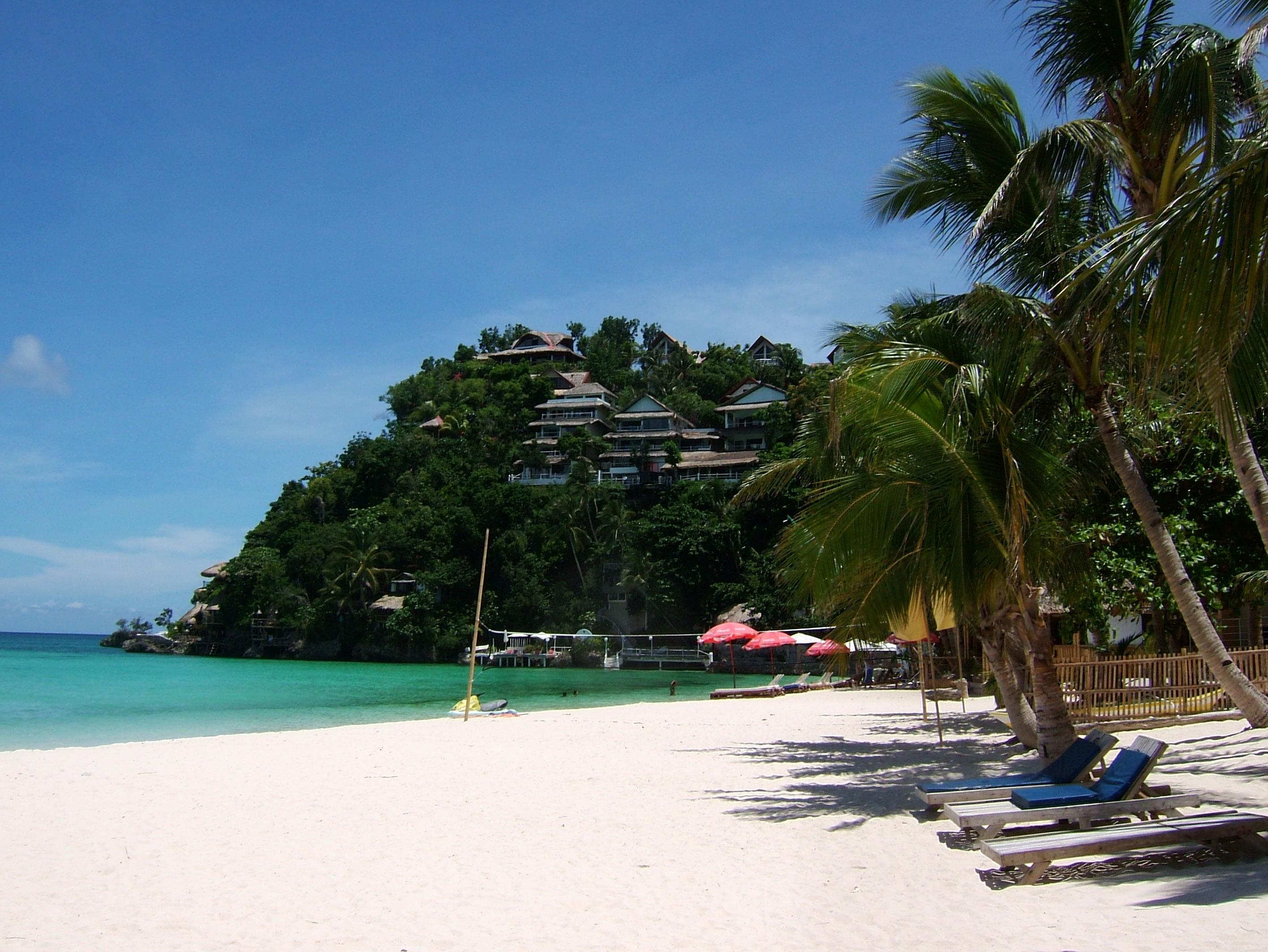Philippines Sugar Islands Boracay Punta bunga beach Resorts 2007 07