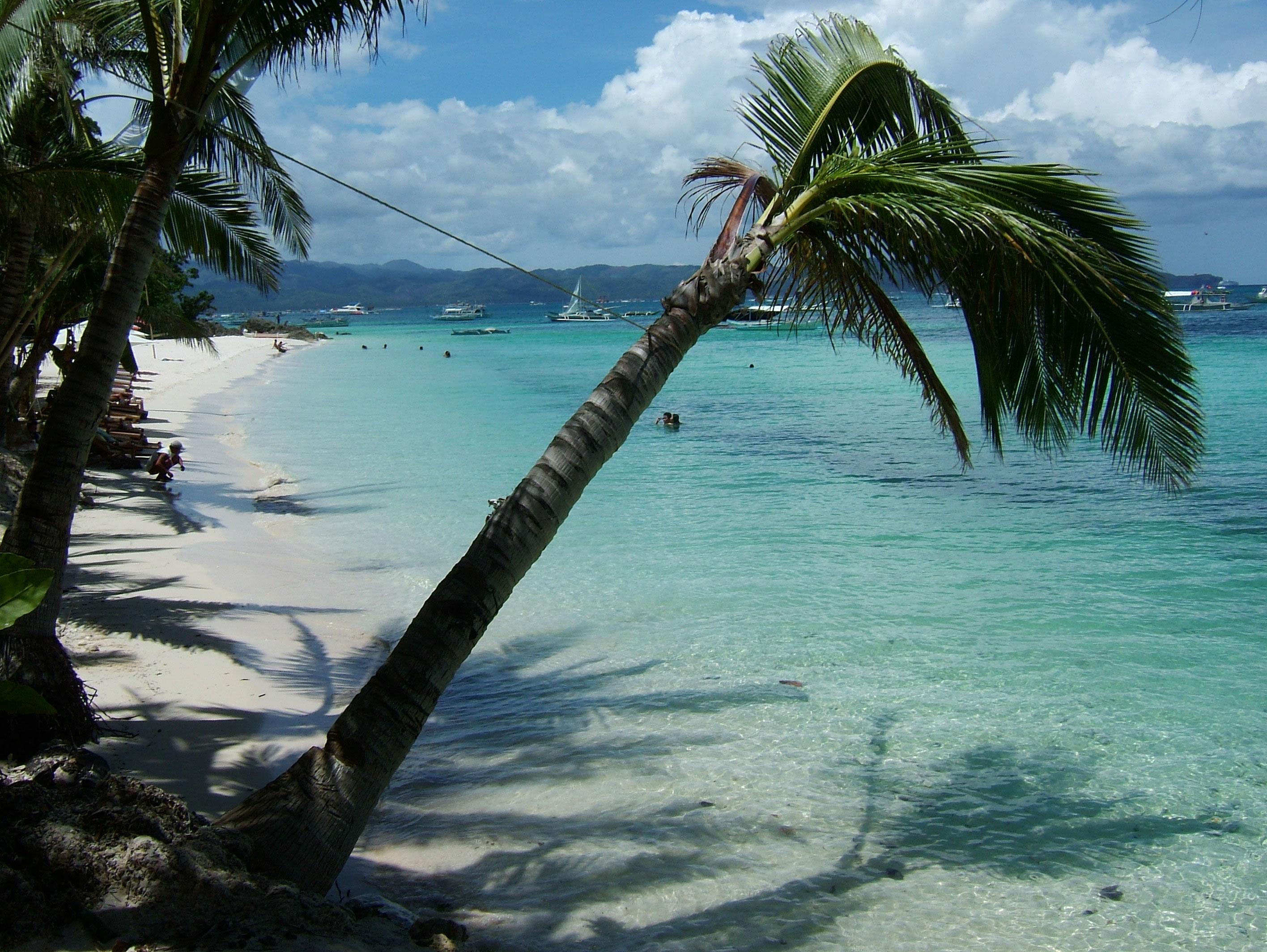 Philippines Sugar Islands Boracay Punta bunga beach Resorts 2007 09
