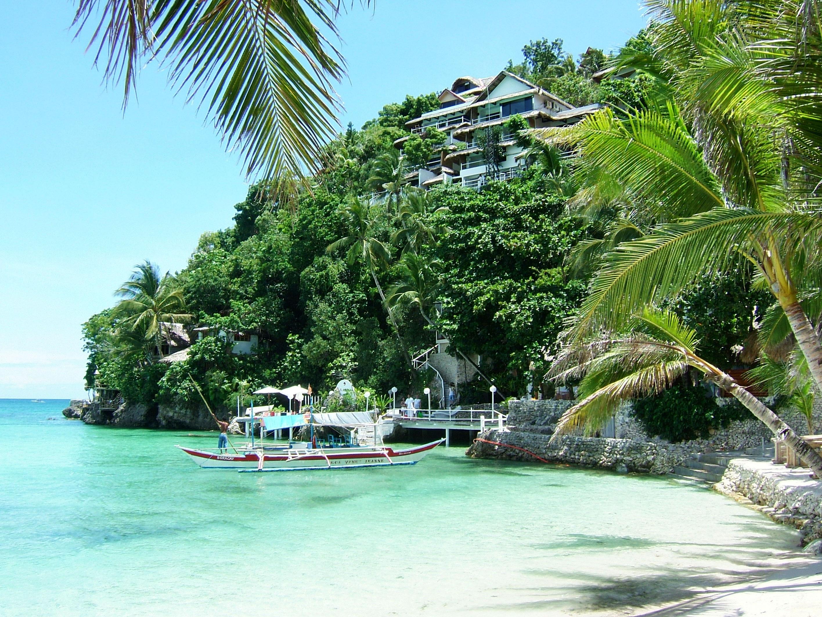 Philippines Sugar Islands Boracay Punta bunga beach Resorts 2007 12