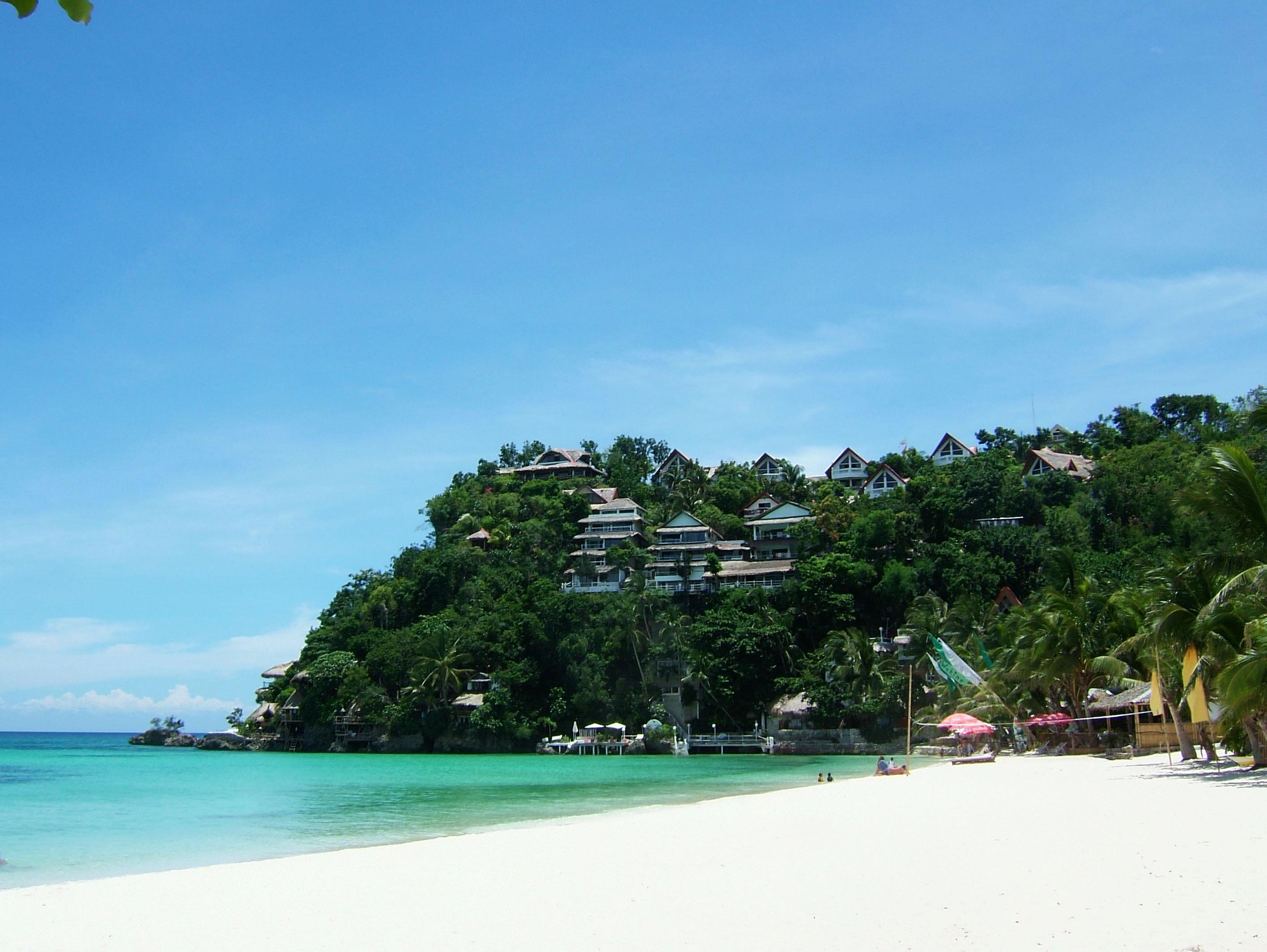 Philippines Sugar Islands Boracay Punta bunga beach Resorts 2007 13