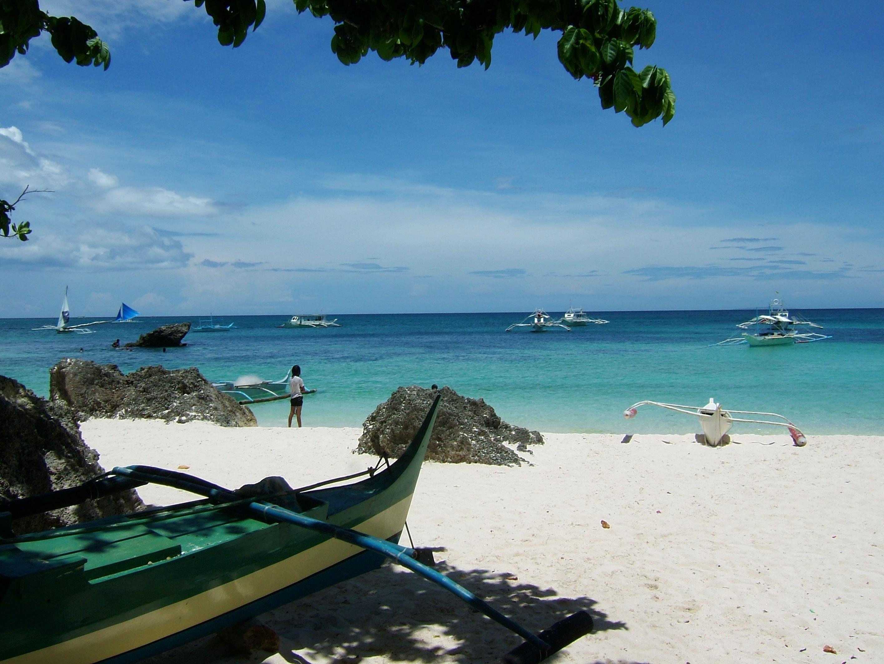 Philippines Sugar Islands Boracay Punta bunga beach Resorts 2007 14