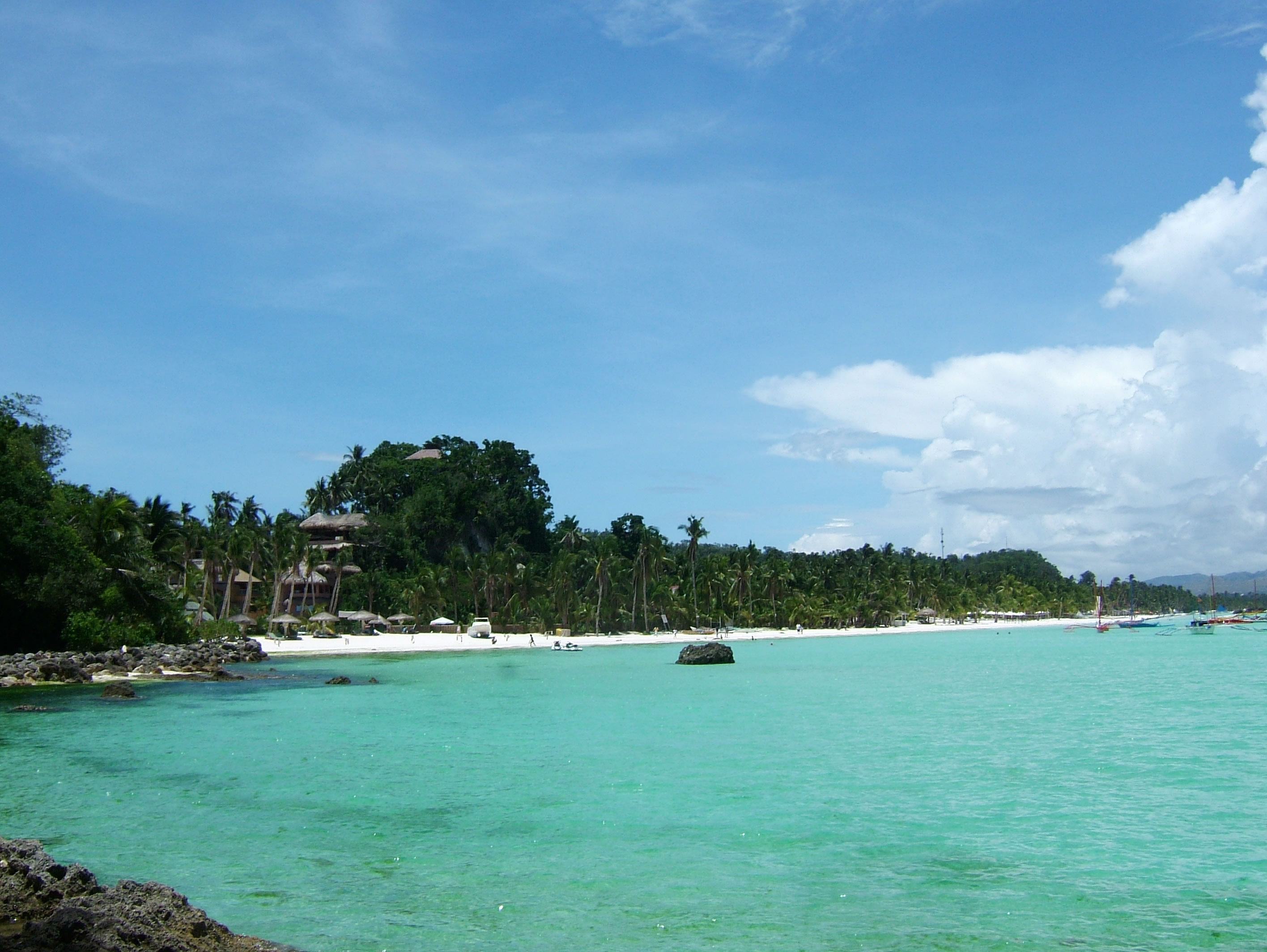 Philippines Sugar Islands Boracay Punta bunga beach Resorts 2007 16