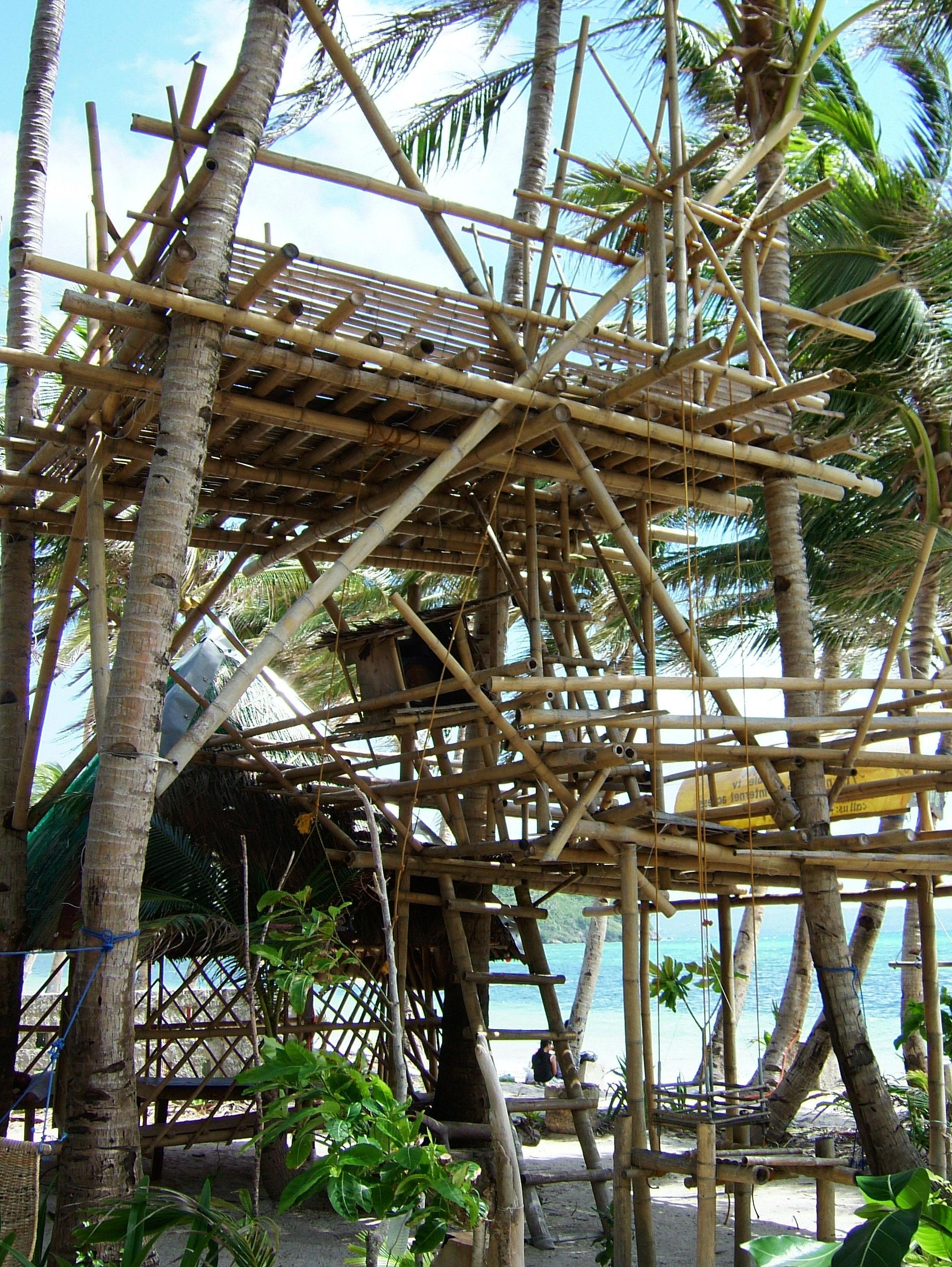 Philippines Sugar Islands Boracay Punta bunga beach Resorts May 2007 06