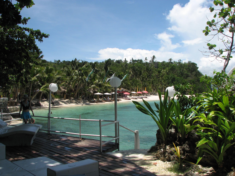 Philippines Sugar Islands Boracay Punta bunga beach Resorts May 2007 16