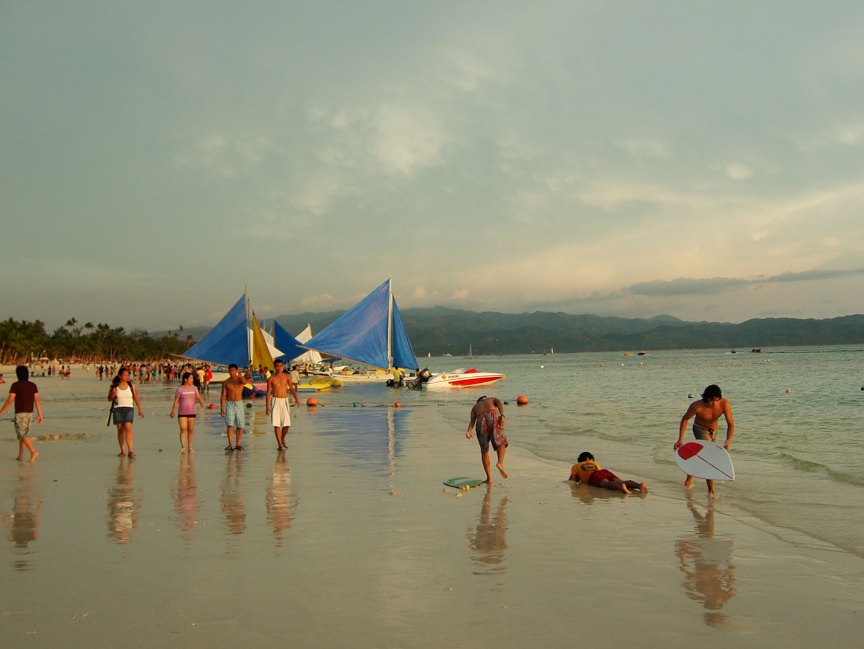 Philippines Sugar Islands Caticlan Boracay White Beach Sunset 2007 14