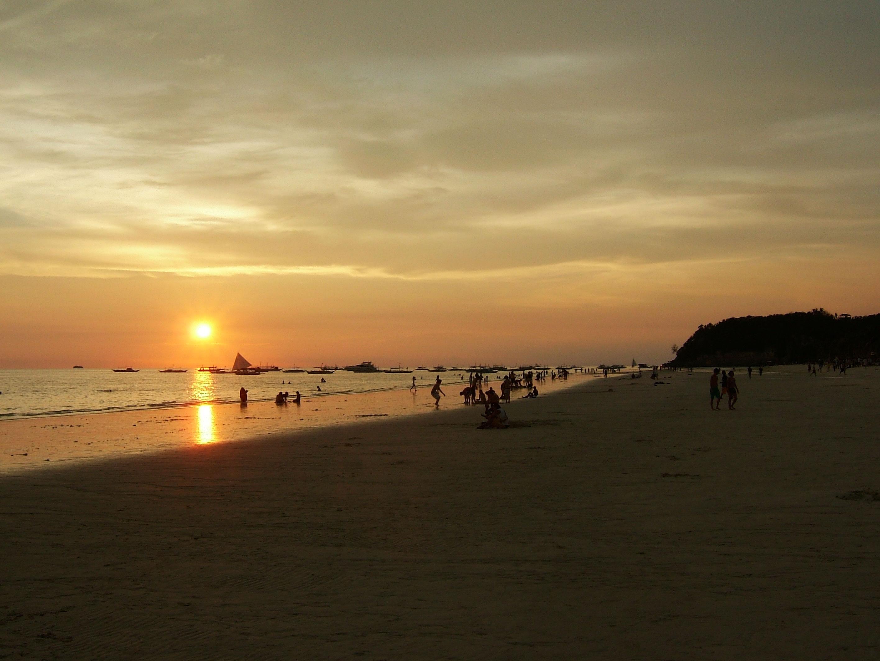 Philippines Sugar Islands Caticlan Boracay White Beach Sunset 2007 15