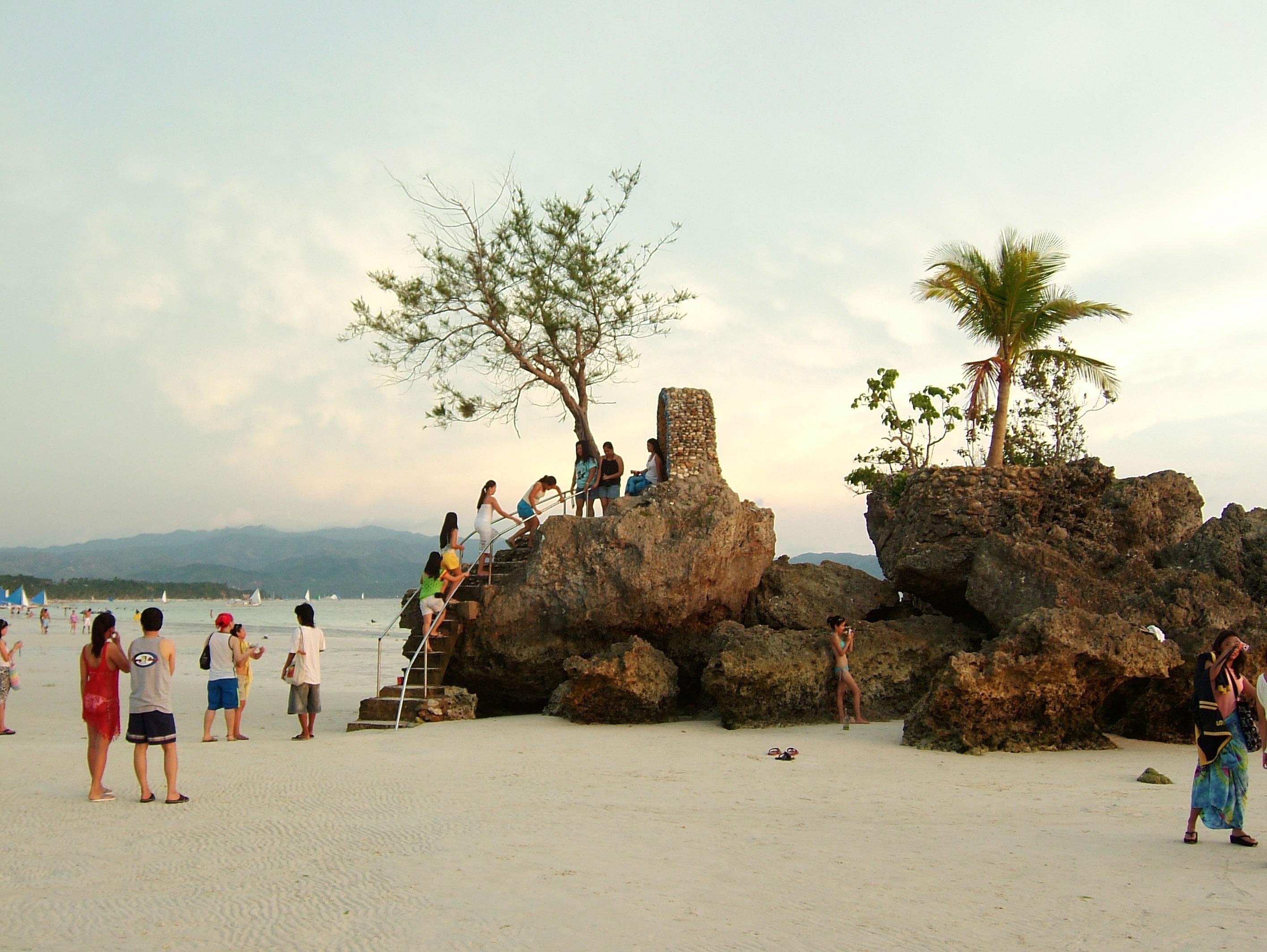 Philippines Sugar Islands Caticlan Boracay White Beach Sunset 2007 16
