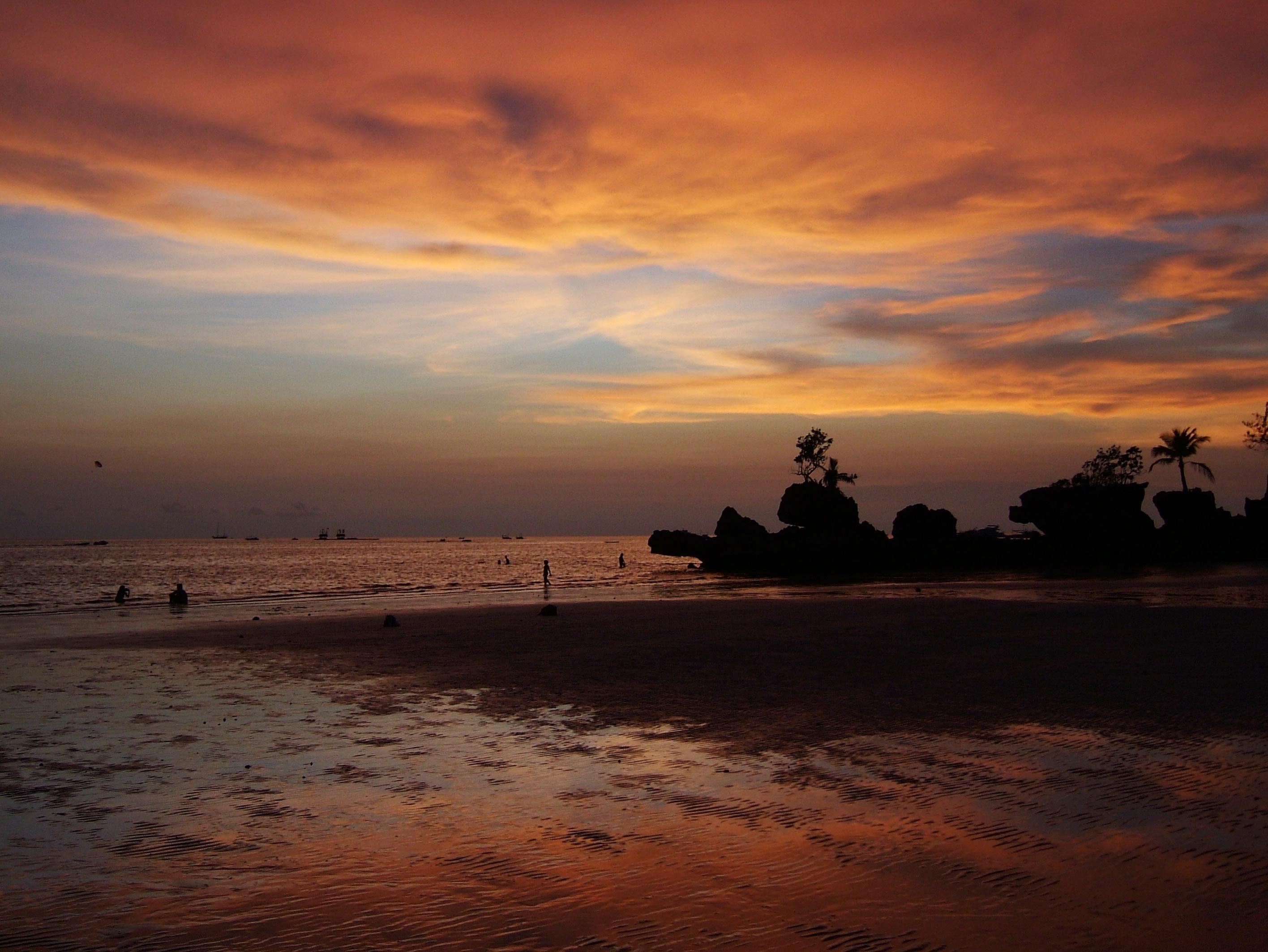 Philippines Sugar Islands Caticlan Boracay White Beach Sunset 2007 49