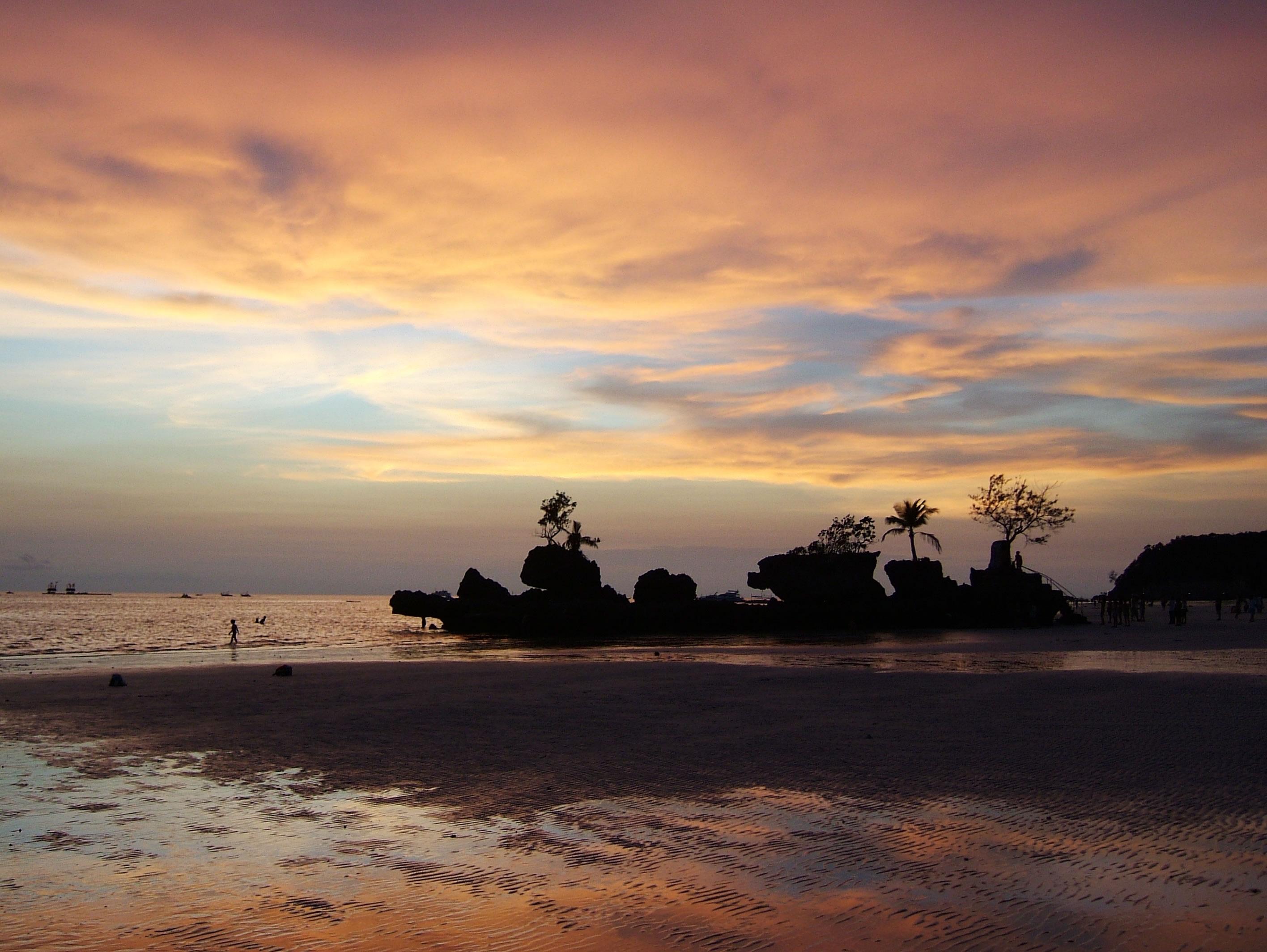 Philippines Sugar Islands Caticlan Boracay White Beach Sunset 2007 50