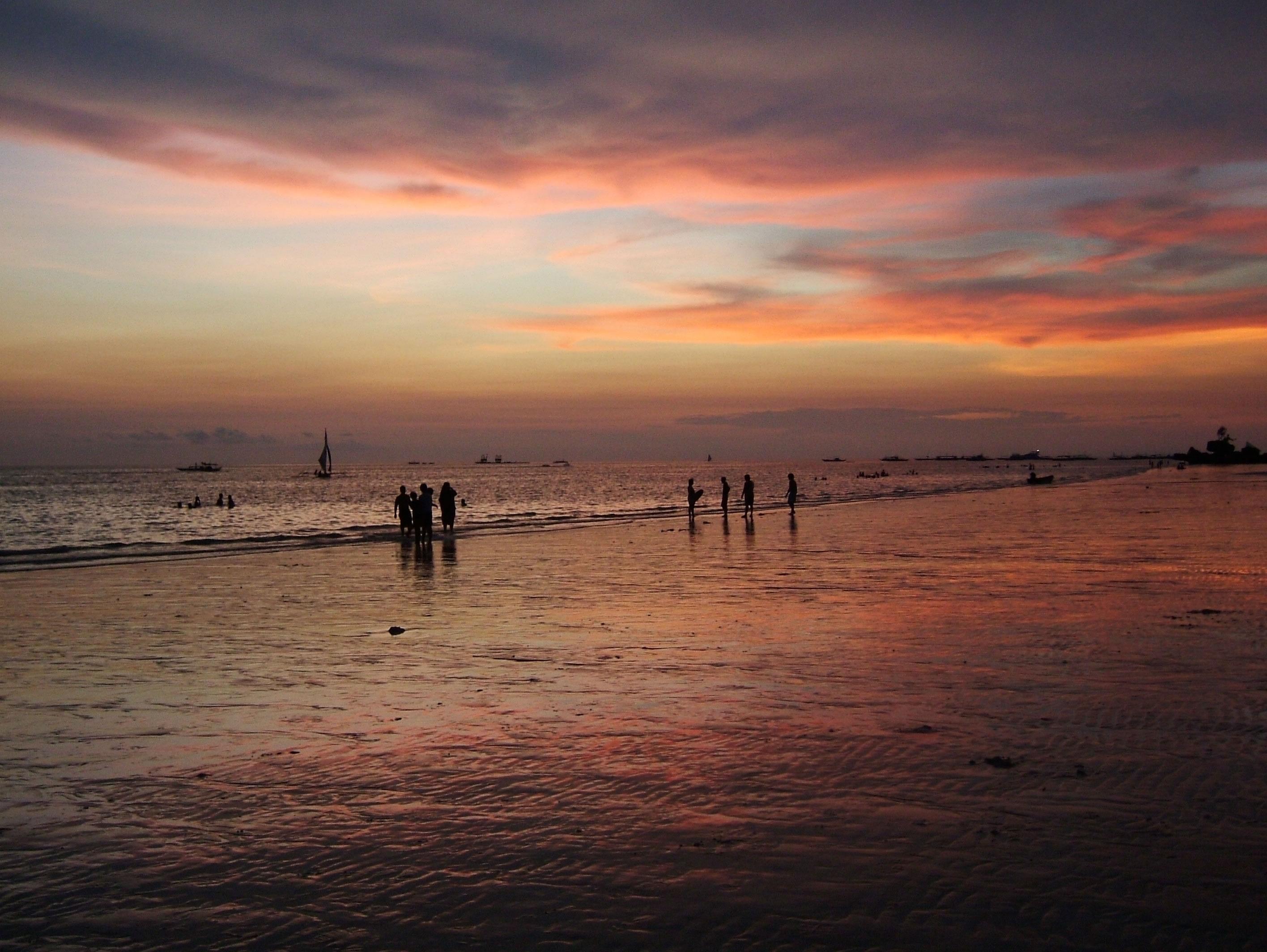 Philippines Sugar Islands Caticlan Boracay White Beach Sunset 2007 53