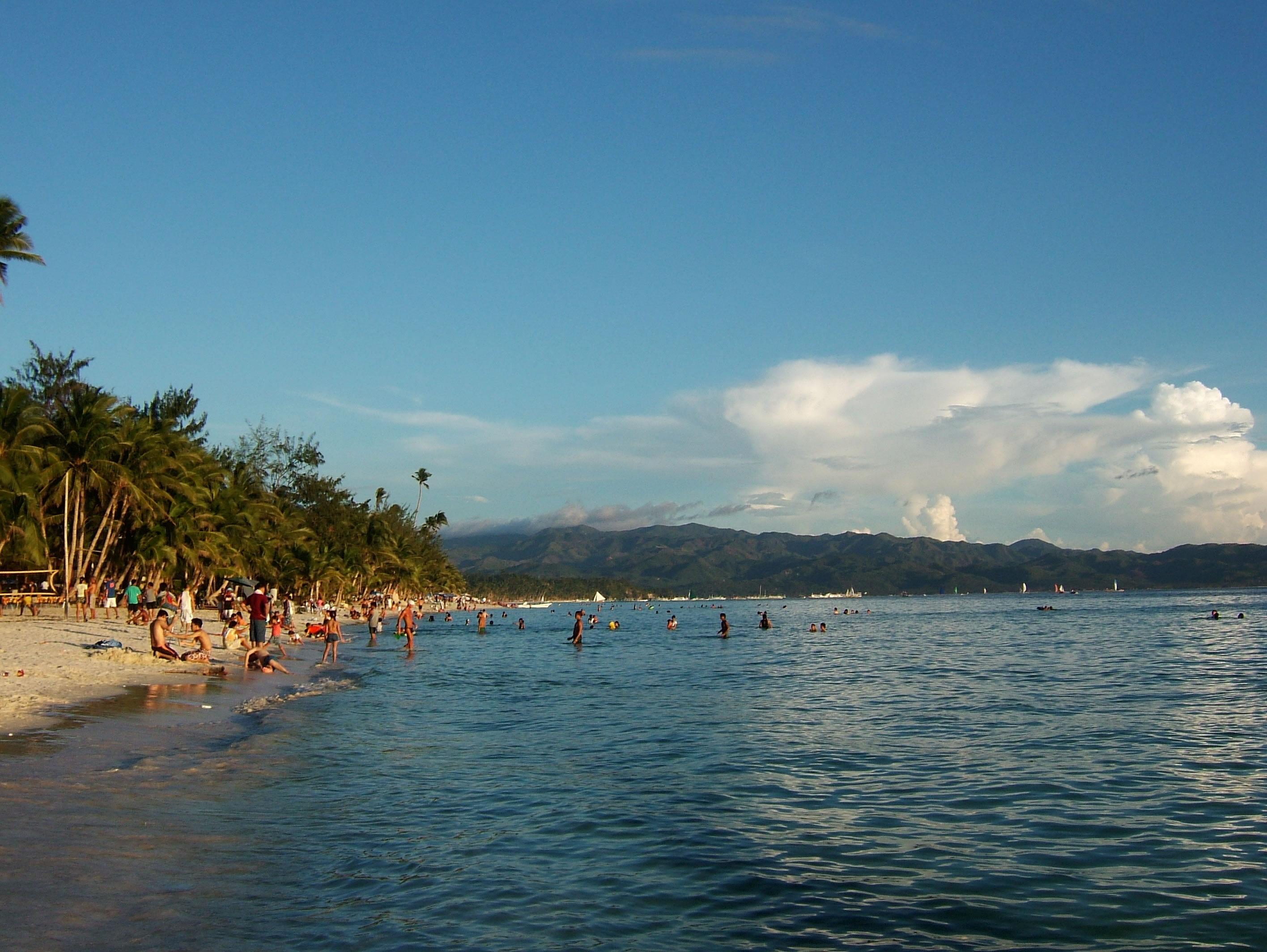 Philippines Sugar Islands Caticlan Boracay White Beach Sunset May 2007 04