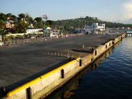 Asisbiz Calapan Port viewed from the Batagas ferry top deck Oriental Mindoro Philippines 2009 02