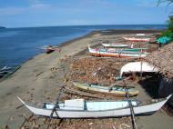 Asisbiz Indigenous boats and bancas Naujan Estrella Oriental Mindoro Philippines Feb 2006 02