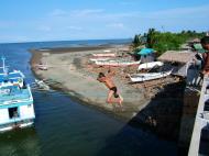 Asisbiz Kids diving of Naujan Estrella bridge Oriental Mindoro Philippines Feb 2006 17